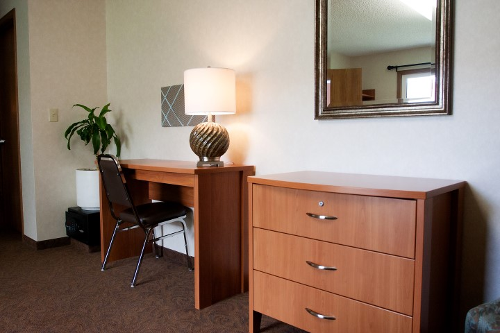 Sundown M Ranch Patient Room Desk