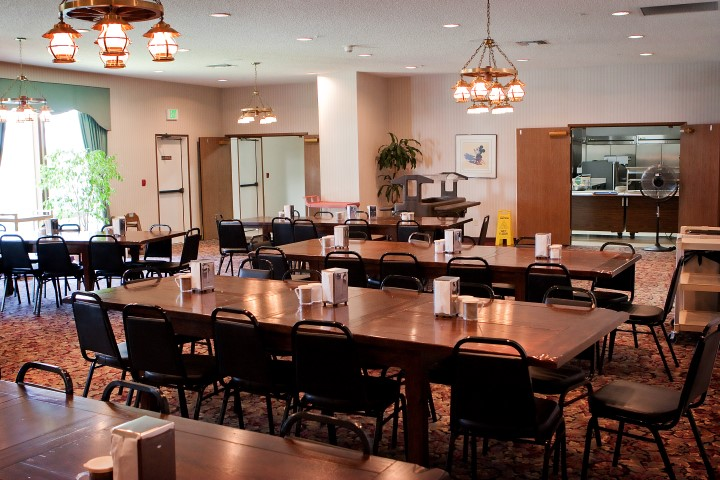 Youth Facility Dining Room